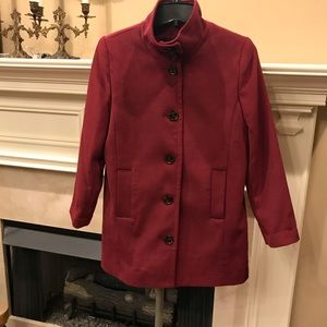 Land's End Black Cherry Parka, Stunning Color, New